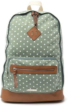Madden-Girl Polka-Dot School Backpack