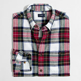 J.Crew Factory Plaid rugged elbow-patch shirt