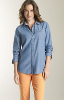 J. Jill Cotton chambray shirt