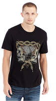 True Religion Twin Bolt Graphic Mens Tee