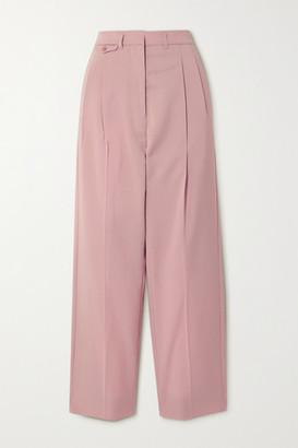 Frankie Shop Pernille Woven Straight-leg Pants - Blush