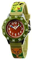 Baby Watch 3700230606139 Montre ZAP Jungle - Wristwatch Boy's, Plastic, Band Colour: Green