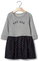 Gap Logo sweatshirt dress