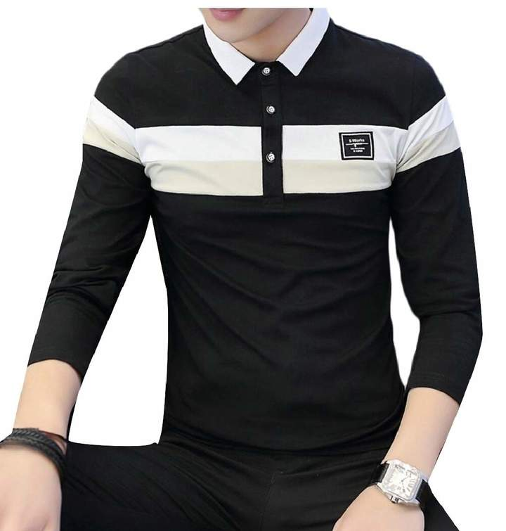 91610c69d75932 Mens Long Sleeve Polo T Shirts - ShopStyle Canada