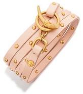 Tory Burch Studded Multi-Wrap Bracelet