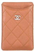 Chanel Caviar Phone Sleeve