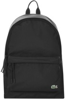 Lacoste Backpack Black