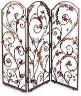 Jay Strongwater Celeste Floral Wall Screen