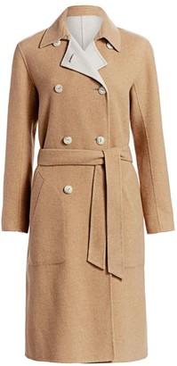 Rag & Bone Rach Wool Blend Reversible Coat