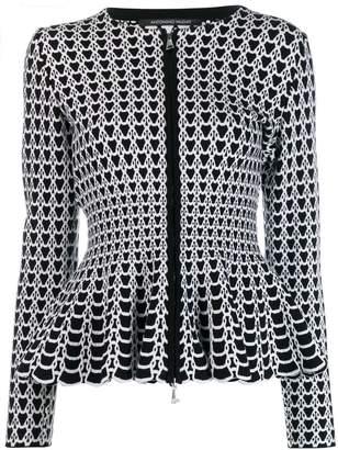 Valenti Antonino peplum waist jacket