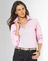 Lauren Ralph Lauren Petites Long-Sleeved Classic Non-Iron Shirt