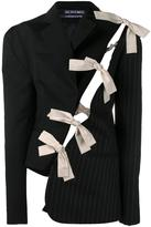 Jacquemus bow detail deconstructed blazer
