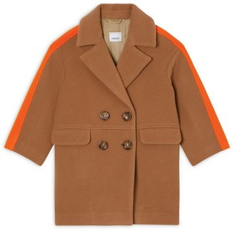 Burberry Kids Wool Colour-Block Coat (3-14 years)