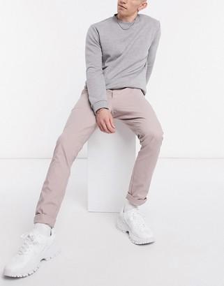 ASOS DESIGN Super Skinny Chinos In Pastel Pink