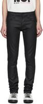 Nudie Jeans Black Grim Trim Jeans