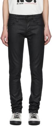 Nudie Jeans Black Grim Trim Jeans