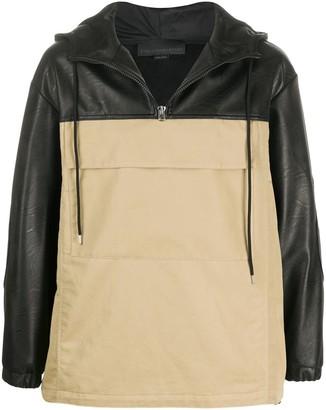 Stella McCartney Two-Tone Hooded Jacket