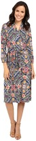 Tommy Bahama Mosaic Relief 3/4 Sleeve Dress