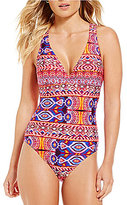 LaBlanca La Blanca Global Perspective Strappy Crossback One-Piece