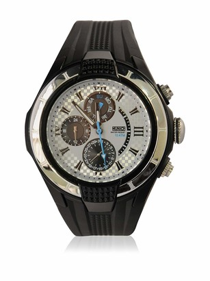 Munich Unisex Adult Analogue Quartz Watch with Rubber Strap MU+116.1E