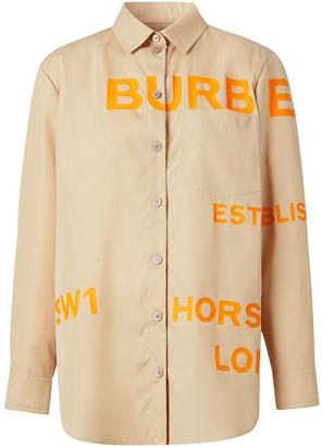 Burberry Horseferry print shirt