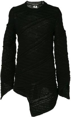 Comme Des Garçons Pre Owned Spiral Sweater