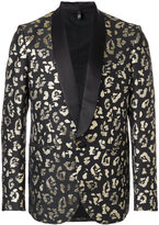 Christian Pellizzari animal pattern suit blazer
