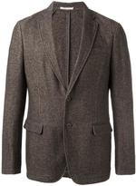 Armani Collezioni two button blazer - men - Cotton/Hemp/Polyester/Cashmere - 50