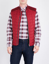 Salvatore Ferragamo Quilted shell gilet