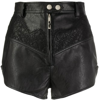 Ellery Lace Inserts Shorts