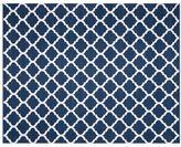 Pottery Barn Becca Tile Reversible Indoor/Outdoor Rug - Blue