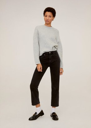 MANGO Long raglan sleeve sweater blue - XS - Women