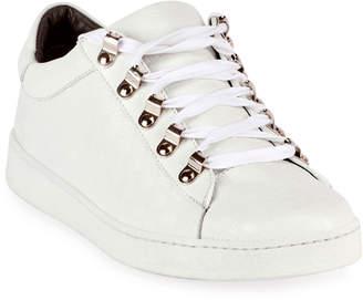 Balmain Noon Leather Low-Top Sneakers