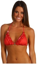 GUESS Spotted Triangle Bra (Poppy) - Apparel