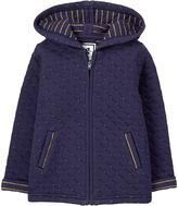 Gymboree Navy Matte Quilted Jacket - Infant & Toddler