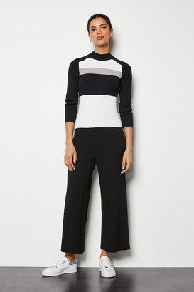 Karen Millen Soft Yarn Wide Leg Knit Trousers