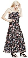 GUESS Women's Sleeveless Indie Lace Maxi Dress