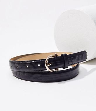 LOFT Refined Skinny Belt