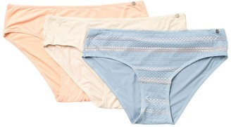 Lucky Brand Lace Trim Hipster - Pack of 3