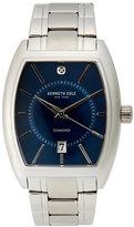 Kenneth Cole Silver-Tone Bracelet Watch