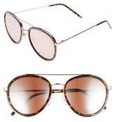 BP Women's Zanzibar 54Mm Aviator Sunglasses - Tort