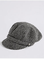 M&S Collection Baker Boy Hat