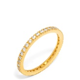 BaubleBar Crystal Eternity Ring