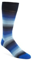 Bugatchi Men's Stripe Socks