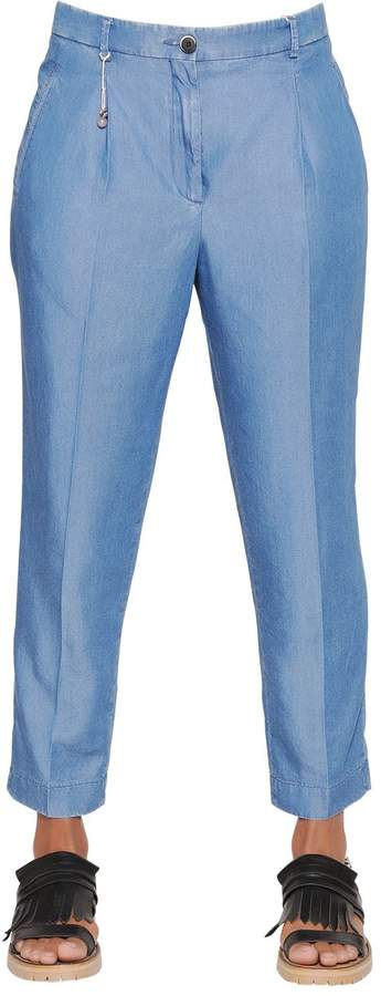 Incotex Luna Light Chambray Denim Pants