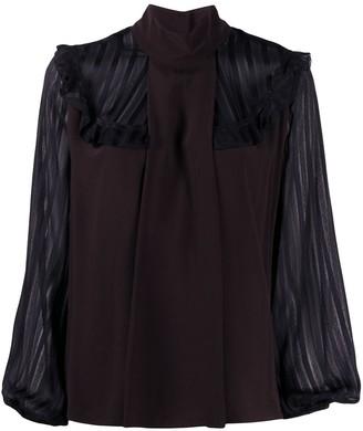 Pinko Marocaine ruffled blouse