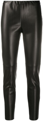 Semi-Couture Faux Leather Trousers