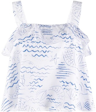Kenzo Wave Mermaid top