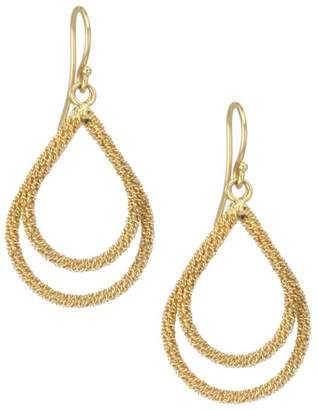Amali 18K Yellow Gold Wrapped Chain Drop Earrings