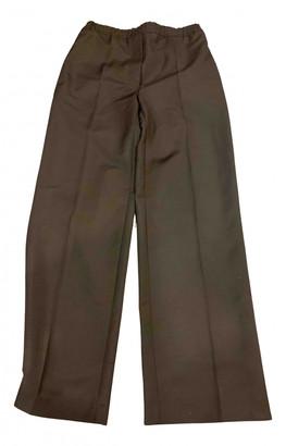 Acne Studios Black Wool Trousers